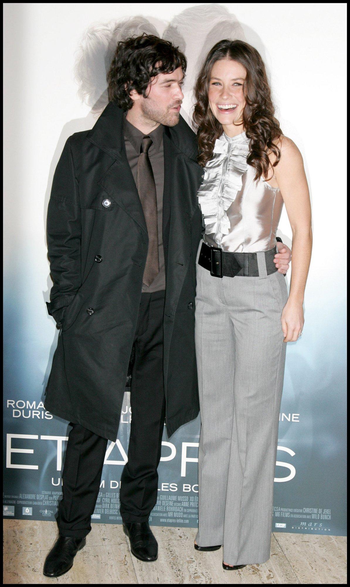 Актер ромен дюрис и его жена дети фото
